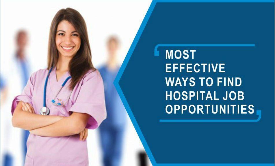 hospital job opportunities
